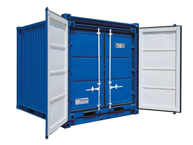 Набор складских контейнеров