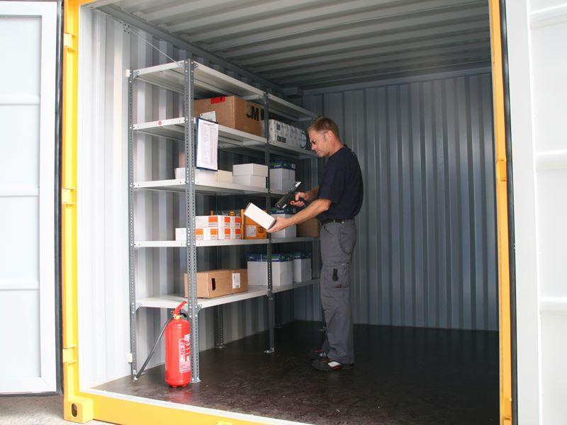 Складские контейнеры, Склад самообслуживания