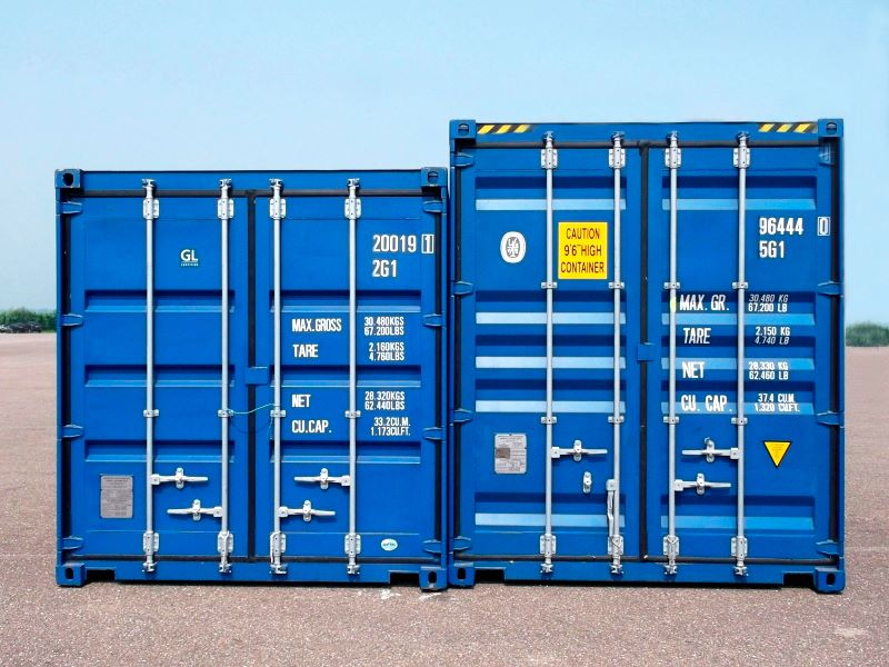 Морские контейнеры, HC & DV